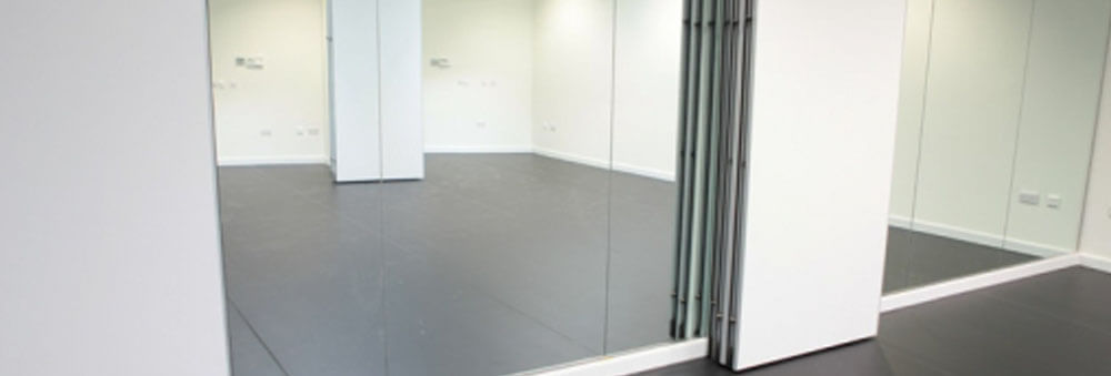 dance studio mirror