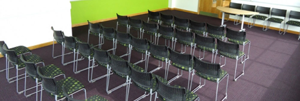 chairs in the meeting room